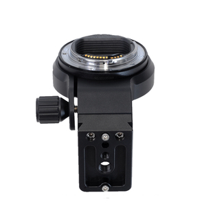 Image 4 - iShoot Lens Collar Foot with Camera Ballhead Quick Release Plate for Canon EF EOS R Tripod Mount Ring