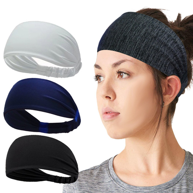 Yoga Headband Fitness Sweat-absorbent Quick-drying Wicking Belt Elastic Running Hairband Headband 1