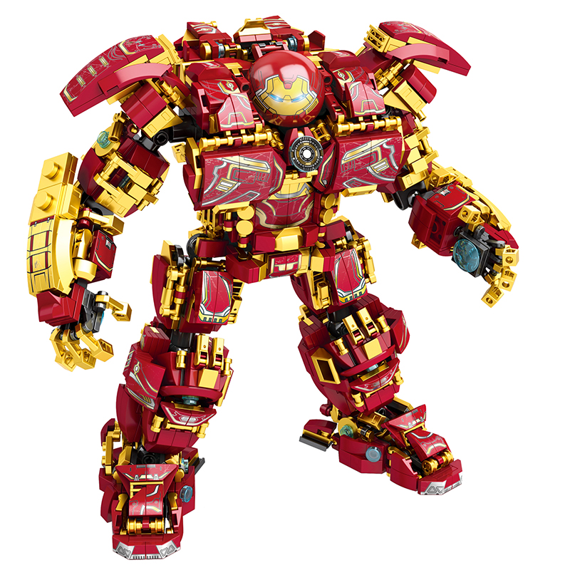 2020 Marvel Avengers Super Heroes Iron Man Hulkbuster War Machine Building Blocks Super Heroes Avengers Lepinblock Toys Gift
