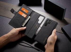 Image 2 - WHATIF S10 S10e étui pour Samsung Galaxy Note 10 9 S8 S7 bord étui aimant rabat détachable portefeuille couverture arrière pour Galaxy S9 S9 plus