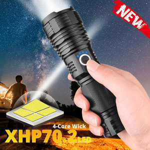200000lm portable XHP70.2 LED