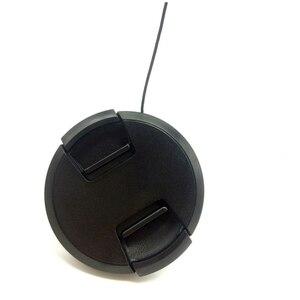 Image 5 - 10 pz/lotto di alta qualità 40.5 49 52 55 58 62 67 72 77 82mm centro pizzico coperchio a scatto per obiettivo fotocamera SONY