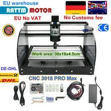 CNC 3018 Pro Max graveur Laser bricolage passe-temps outils de coupe ER11 GRBL pour bois PCB PVC Mini