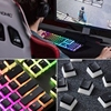 Double Lens Backlit PBT Pudding Keycap Set Suitable for Conventional 104 Keyboard discount