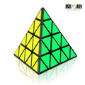 QIYI 4X4x4 Pyramid Speed Cube Smooth Magic Puzzle Game Black Learning&Educational Puzzle Cubes Kids Toys