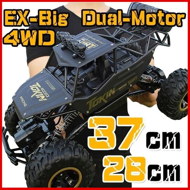1:12 4WD RC Car Updated Version 2.4G Radio Control RC Car Toys remote control car Trucks Off-Road Trucks boys Toys for Children 1