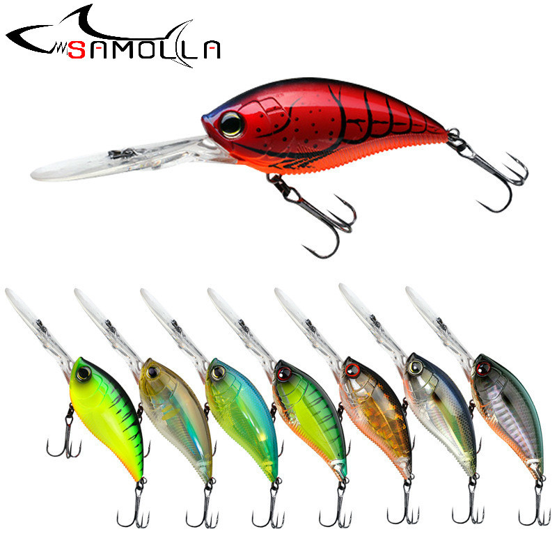 2020 Crankbait Fishing Lure Rock Bait Weights 11.4cm 21g Trolling  Saltwater Lures Whoppers Trolling Lure Crank Bait Fake Fish