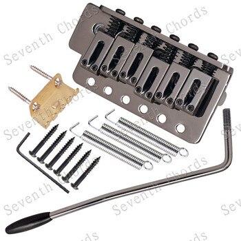 Puente de guitarra de 6 cuerdas de color de la pistola para partes de puente de guitarra eléctrica accesorios de instrumentos musicales
