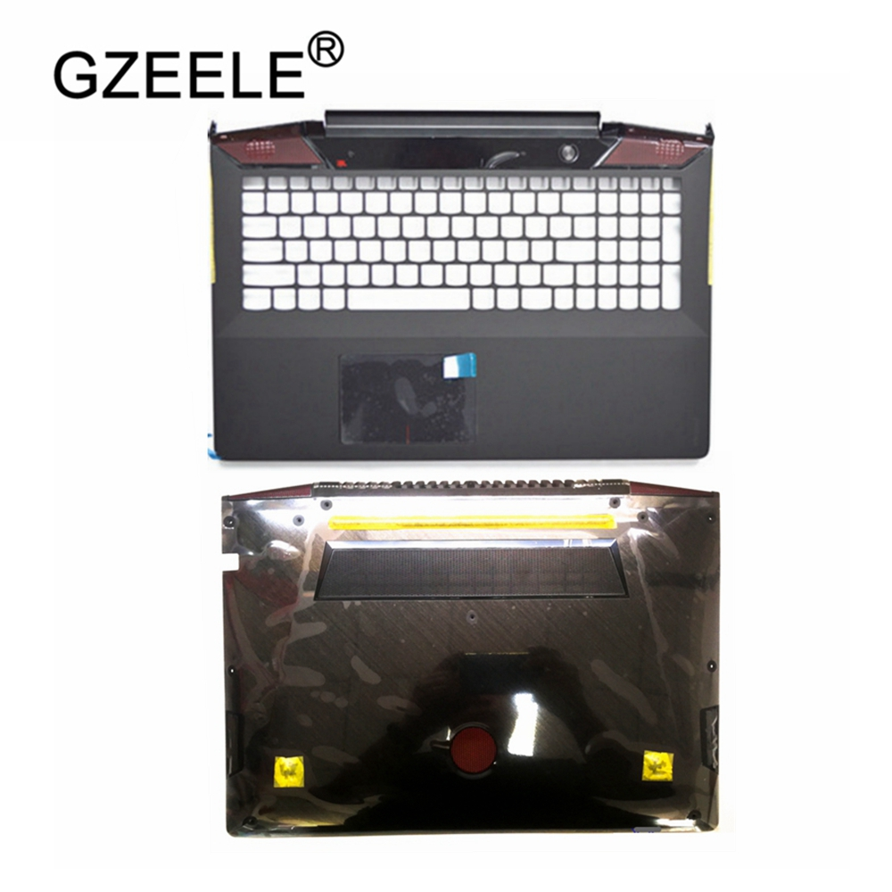 New For <font><b>Lenovo</b></font> Ideapad <font><b>Y700</b></font>-17 <font><b>Y700</b></font>-17ISK TOP COVER Palmrest Upper Case +Touchpad AP0ZH000400 US AP0ZH000410 UK image