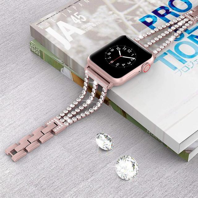 Фото новый женский браслет jansin для часов apple watch 38 мм 42