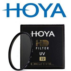Image 1 - هويا HD UV 49 مللي متر 52 مللي متر 55 مللي متر 58 مللي متر 62 مللي متر 67 مللي متر 72 مللي متر 77 مللي متر 82 مللي متر الرقمية الأشعة فوق البنفسجية (فوق البنفسجية) تصفية لكانون نيكون سوني Fijifilm