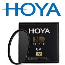 HOYA HD UV 49mm 52mm 55mm 58mm 62mm 67mm 72mm 77mm 82mm dijital UV (Ultra Violet) filtre Canon Nikon Sony için Fijifilm