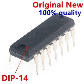 10 pces lm339n dip14 lm339 dip 339n dip-14 quad única fonte comparadores original novo ic