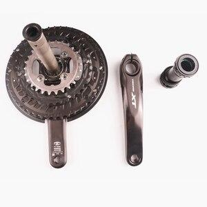 Image 3 - Shimano manivela de velocidad DEORE XT T8000 3x10, conjunto de manivela de velocidad para bicicleta de montaña, HOLLOWTECH II 170 48 36 26T, 30 manivela de velocidad con piezas para bicicleta MT800