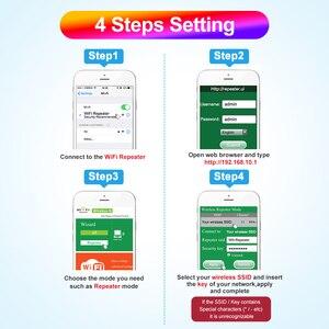 Image 3 - IMice Repeater wzmacniacz sygnału wi fi bezprzewodowy dostęp do internetu wzmacniacz bezprzewodowy 300M 802.11n g b sygnału wzmacniacz zasięgu Reapeter bezprzewodowy dostęp do internetu punkt dostępu dla SOHO