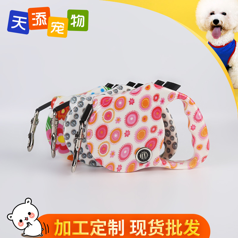 Pet Automatic Hand Holding Rope 3 M 5 M 6 M Specification Color Extendable Hand Holding Rope Dogs' Tractor