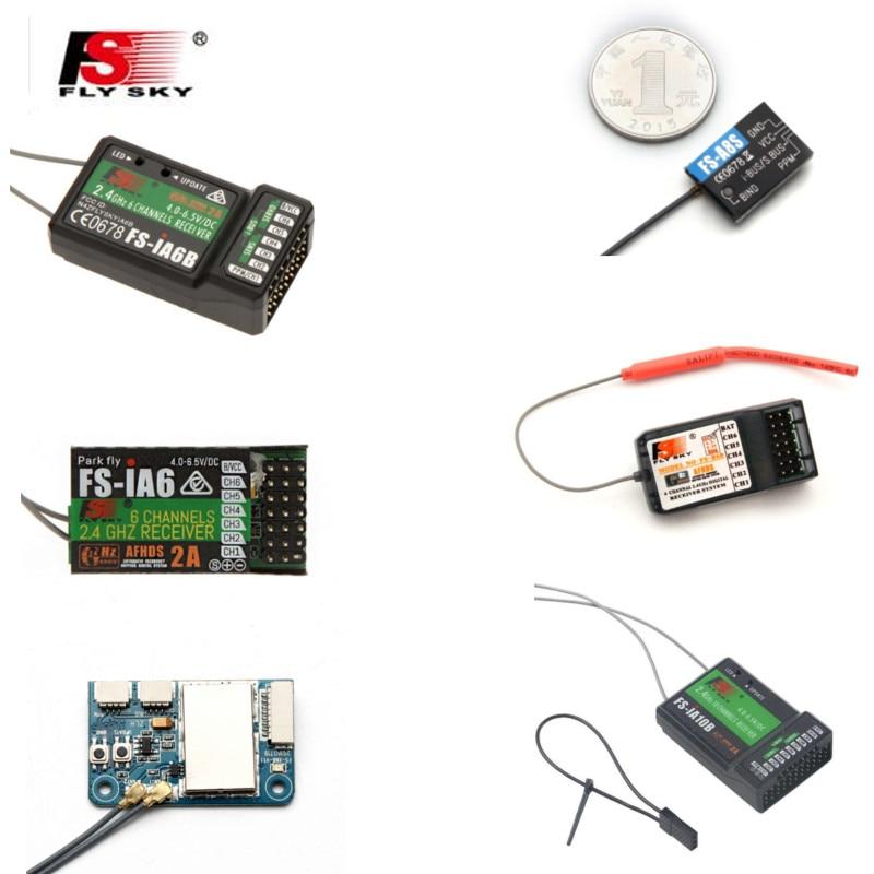 FLYSKY 2.4G IA6 IA6B X6B A8S R6B GR3E R9B X8B iA10B BS6 A3 GR4 RX2A TX Module Fli14 + FS2A RC Drone FPV Récepteur pour i6 i6s i6x