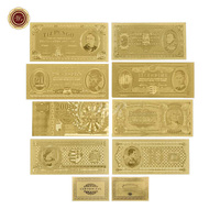 Hungary Gold Foil Bankntoe Paper Money Collection Plated Gold 999999 Home Decor
