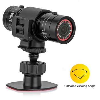 Portable Camcorder F9 HD 1080P Sports Bike Car Motorcycle Helmet USB Mini Camera Video Surveillance Recorder DV CCTV Waterproof