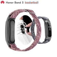 Original Huawei Honor Band 5b 5 basket ball Ver bracelet intelligent en cours dexécution Posture moniteur 2 Mode de port résistant à leau 50 mètres 5ATM