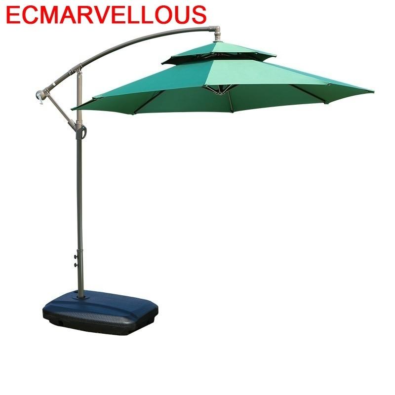 Garten Arredo Mobili Cover Ombrelloni Da Giardino Pergola Mueble De Jardin Parasol Outdoor Garden Furniture Umbrella Set