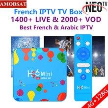 H96 Mini Android 9.0 Smart TV Box 6K H.265 Wifi HD Google Pl