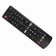 Controle remoto universal para lg tv, controle remoto akb75095308 para lg tv 43uj6309 49uj6309 60uj6309 65uj6309