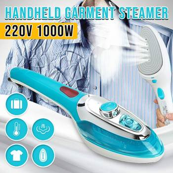 Portable Handheld Travel Iron Garment Steamer Home Clothes Electric Iron Steam Brush Fabric Laundry Ironing Machine 220V 1000W