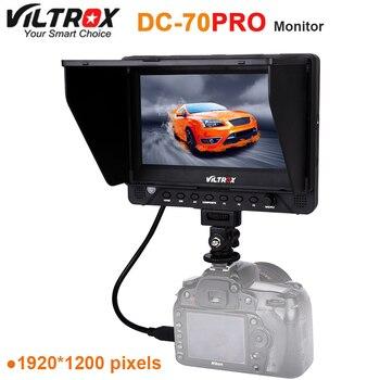 Viltrox DC-70PRO 4K 7'' Camera Video Monitor Display IPS HD SDI/HDMI/AV 1920x1200 Pixels for all camera DSLR BMPCC