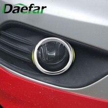 Car Styling coperchio telaio fendinebbia anteriore Per Ford Focus 2 Mk2 2009 - 12 Abs cromato 2 pezzi Per set decorazione fendinebbia testa modificata