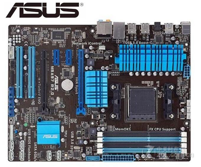 ASUS M5A97 R2.0 Original Motherboard Socket AM3+ DDR3 32GB USB2.0 USB3.0 970 Used Desktop Motherboard On Sales