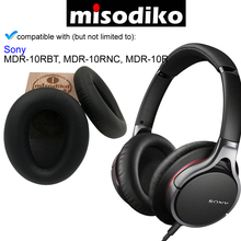 Misodiko Replacement แผ่นรองหูฟังสำหรับ Sony MDR10R MDR 10RBT MDR 10RNC,ชิ้นส่วนซ่อมหูฟัง Earmuff หูฟังหมอน