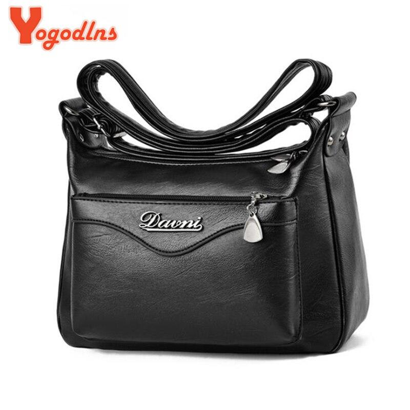 Yogodlns 2019 Brand Casual Shoulder Bags Women Small Messenger Bags Ladies Retro Design Handbag Female Crossbody Bag