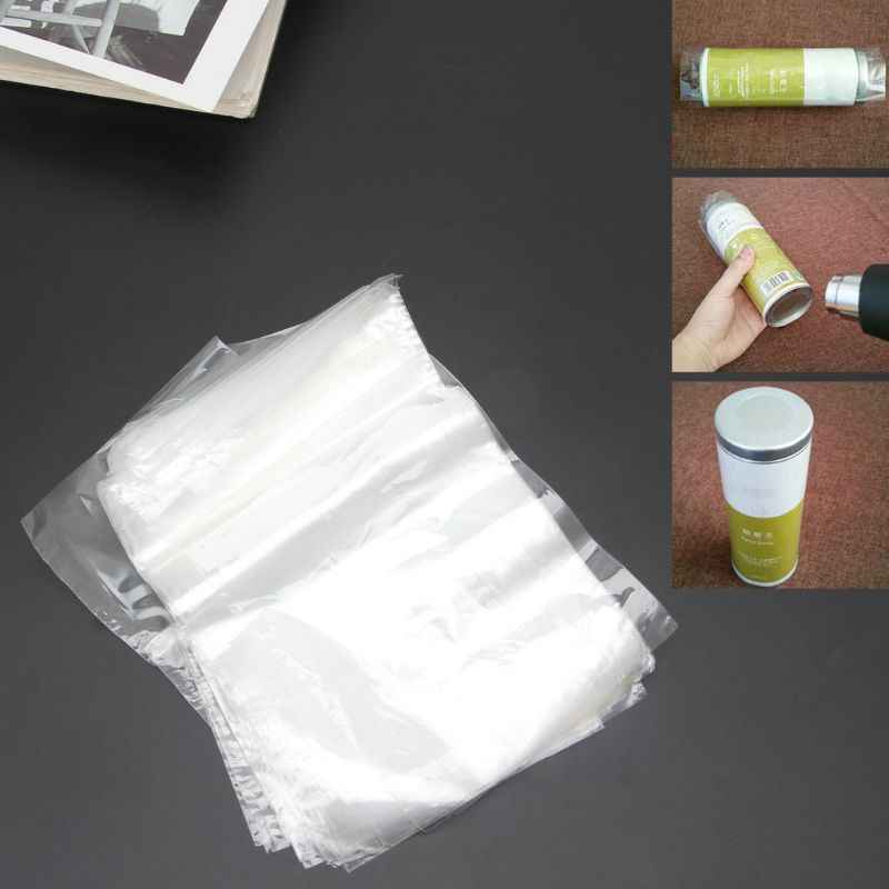 4X6 Inch 100 Pack Clear Heat Shrink Wrap Bags for Soaps Candle Jars Small Gifts