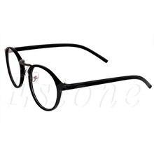 2017  Vintage Clear Lens Eyeglasses Frame Retro Unisex Round Men Women Nerd Glasses MAR18_15