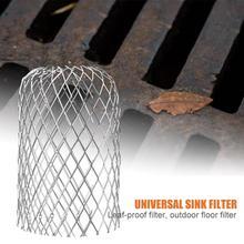 Стальной проволочный сетчатый фильтр водопровод отверстие для орошения водяной насос защитный шланг сетчатый фильтр наружные дренажные принадлежности