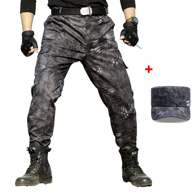 Pantalones Tipo Comando Tactico Para Hombre Pantalones Militares Estilo Militar Clasico Pantolon Joggers Hunter Jungle Woodland Pantalones Informales Aliexpress
