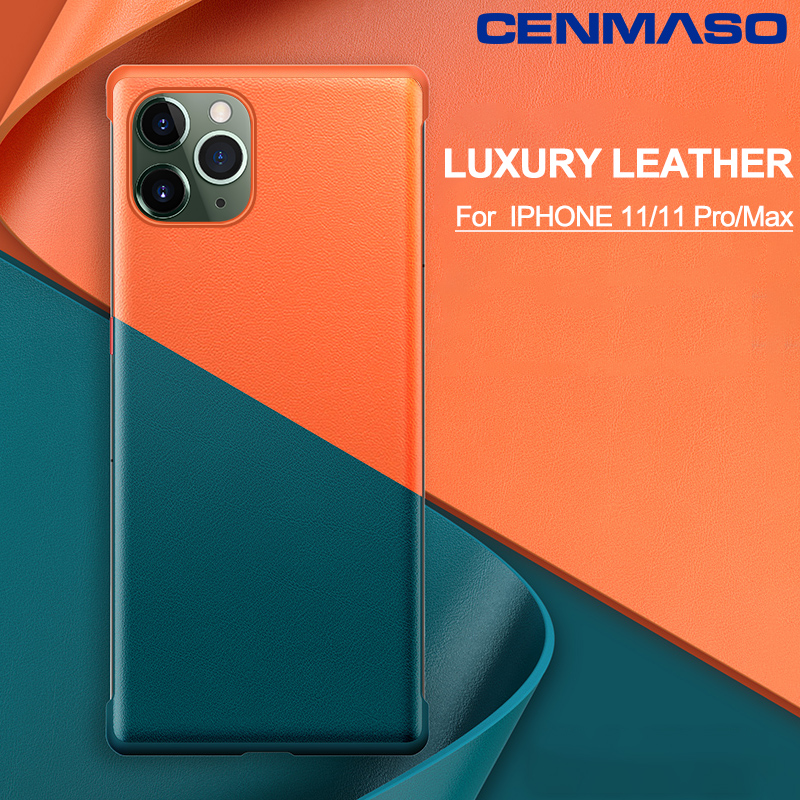 For <font><b>iPhone</b></font> 11 Pro Max <font><b>Case</b></font> <font><b>Original</b></font> Luxury Leather Proterction Silicone Soft Back Cover for <font><b>iPhone</b></font> 7 <font><b>8</b></font> Plus XR XS Max <font><b>Case</b></font> image