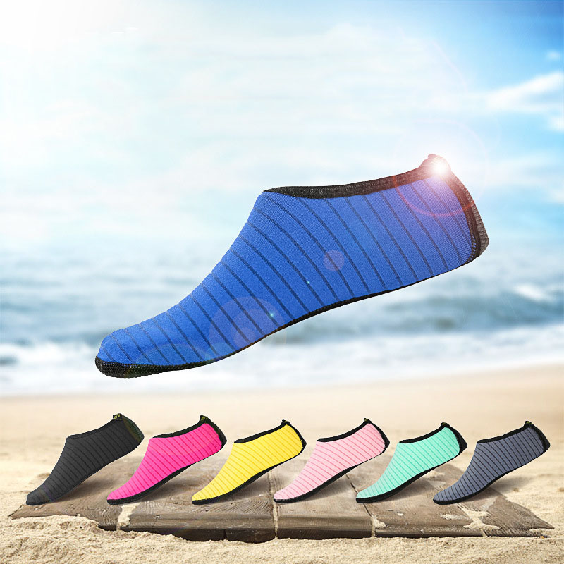 Men Women Water Shoes Sports Aqua Barefoot Quick Dry Breathable For Boating Beach ED889