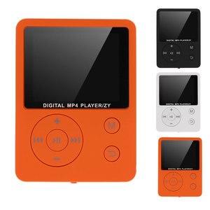 Mini MP3 Player 3.5mm Earphone Port MP4 Player FM Radio Audio Recording Music Playing Device 1.8