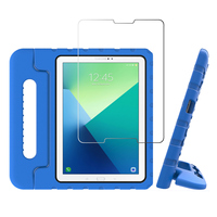 """screen film For Samsung Galaxy Tab A 10.1"""" 2019 T510 T515 2019 Tablet Case EVA Shockproof Portable Handle Protective Stand Cover+Screen Film (1)"""
