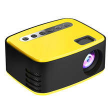 T20 Mini Portable Projector Entertainment Home High-Definition Support TF Card Small Theater Mini Projector Hot Sale