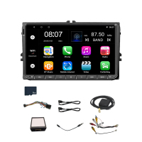 9 Inch Android 8.0 Double 2Din Car Radio Gps Auto Radio 2 Din for Volkswagen/Passat/Golf/Skoda/Seat Wifi Bluetooth(with 8G Memor