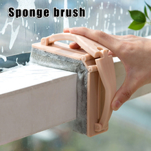 Hot Sale Plastic Handle Sponge Bath Brush Tile Glass Clean Brushes Pool Scrubber Cleaning