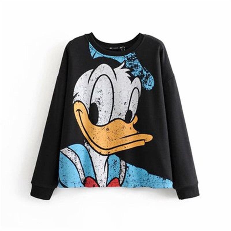 Daisy-duck-cartoon-print-women-sweatshirt-Top-Hoodies-women-clothing-sweatshirt-Ladies-pullover-sweatshirts-female-Hoodies