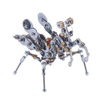 2020 New DIY 3D Assembly Metal Puzzle Model Kit Mechanical Jigsaw Crafts For Gift Home Decor - Desert Scorpion/Rainforest Armor
