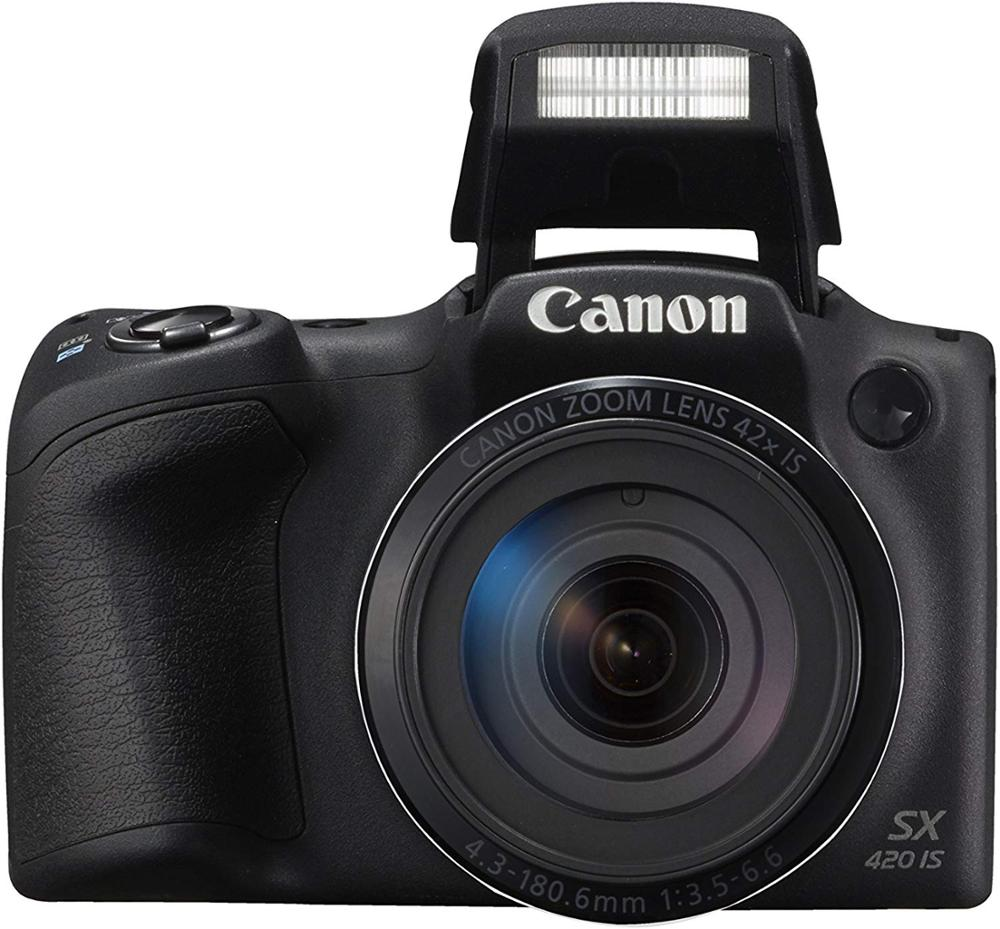USED Canon PowerShot SX420 Digital Camera w/ 42x Optical Zoom - Wi-Fi & NFC image
