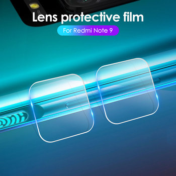 Перейти на Алиэкспресс и купить 2 шт. Защитное стекло для объектива для Xiaomi Redmi K30 Note 9S 9 8 Pro 8T 9 Pro Max 10X Pro 10X 5G 4G 8A 8