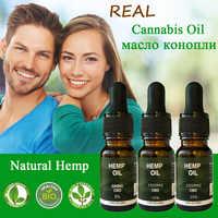 10ML de aceite Real CBD 5% 10% 20% de consistencia CBD con una pureza superior al 99% de aceite de cáñamo para evitar la ansiedad y mejorar la eficiencia del sueño para una salud