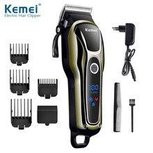 Máquina de afeitar el pelo profesional para hombre, recargable, 100 240V, eléctrica, 38D